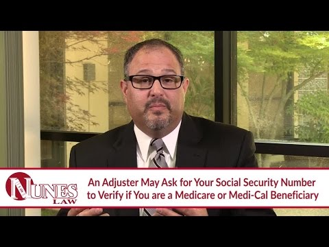 Why Is An Insurance Adjuster Asking For My Social Security Number? - CA Lawyer Frank Nunes explains from YouTube · High Definition · Duration:  2 minutes 6 seconds  · 400 views · uploaded on 02.05.2016 · uploaded by Nunes Law
