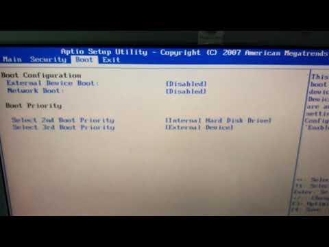 Как зайти и настроить BIOS ноутбука Sony Pcg-7186m для установки WINDOWS 7, 8, 10 с флешки.