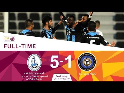Al Wakrah 5 - 1 Al Sailiya (Week 13)