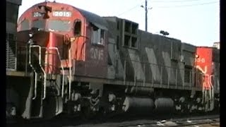 CN's C-630Ms In The Halifax Area 1992-5