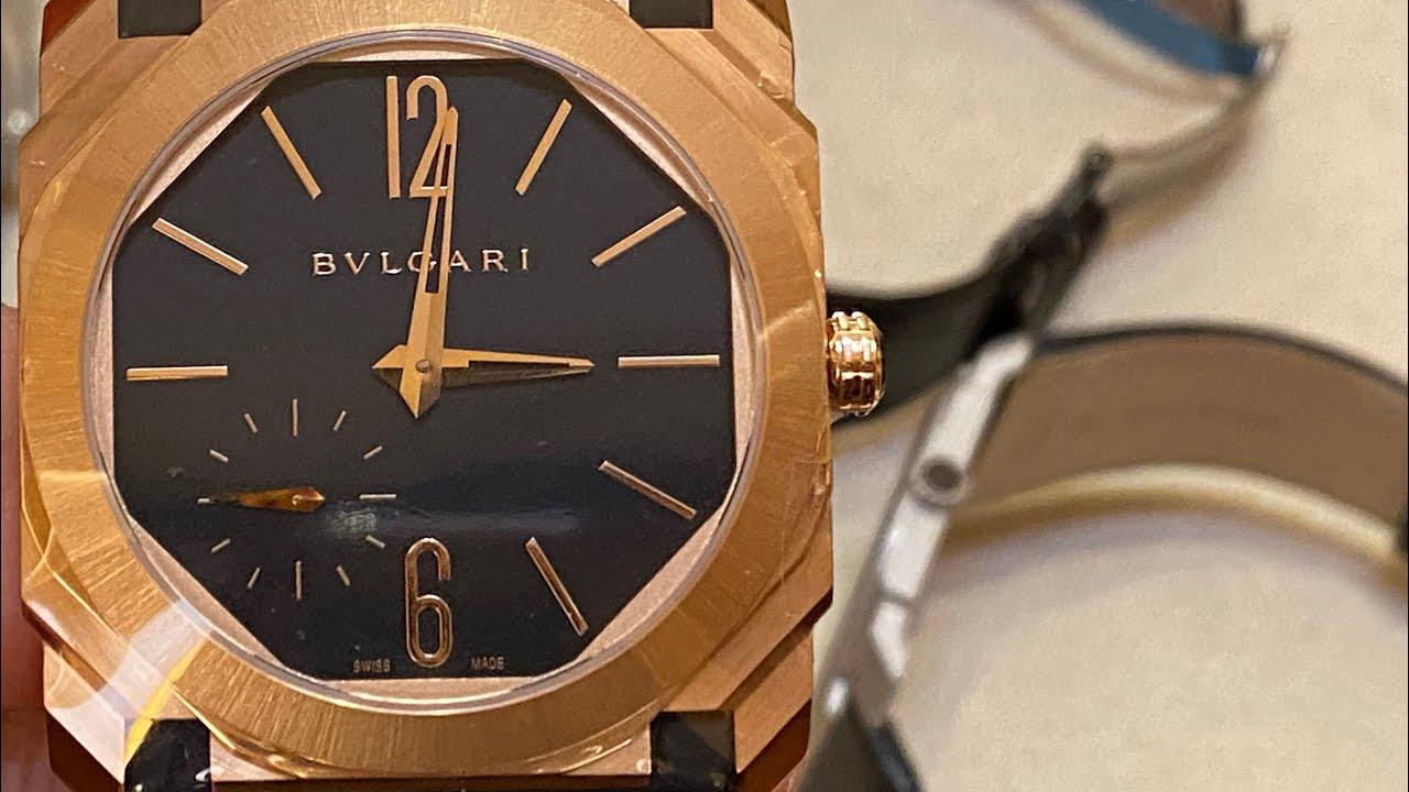 ป้ายยากับ BVLGARI - นาฬิกา OCTO FINISSIMO, the finest and thinnest บางเฉียบและเต็มไปด้วย heritage