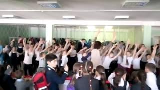 """Танцевальная эстафета  «Мы все за здоровый образ жизни» МБОУ """"СОШ №10"""""""