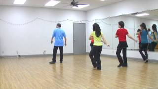 What If Waltz - Line Dance (Dance & Teach in English & 中文)