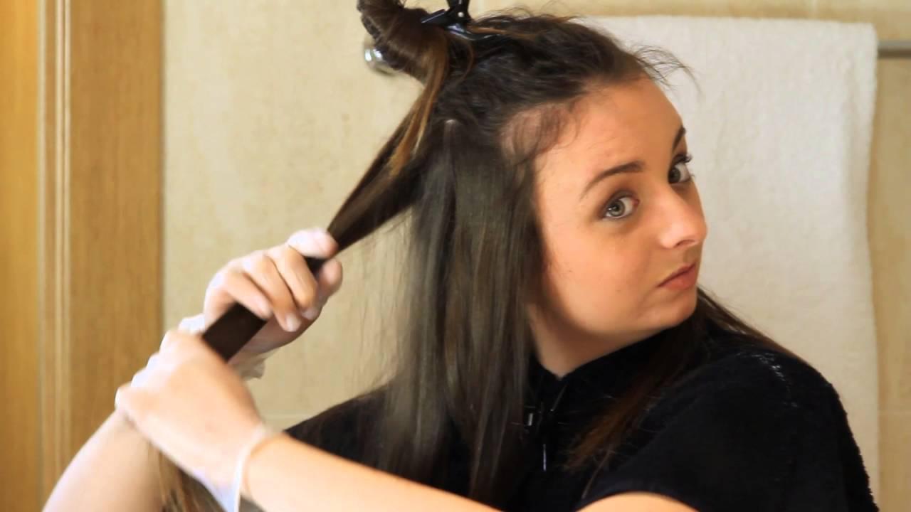 Como hacer mechas ombre hair en casa paso a paso blonde box kit creativo youtube - Como darse mechas en casa ...