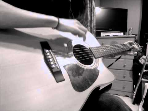 Brantley Gilberts Bottoms Up Acoustic Guitar Cover Youtube