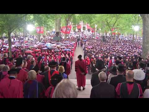 "James Earl Jones tells Harvard grads ""May the Force be with you"""