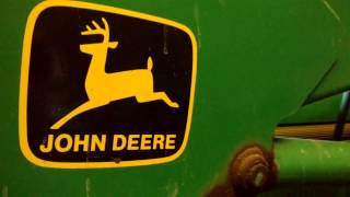 Genuine John Deere parts.