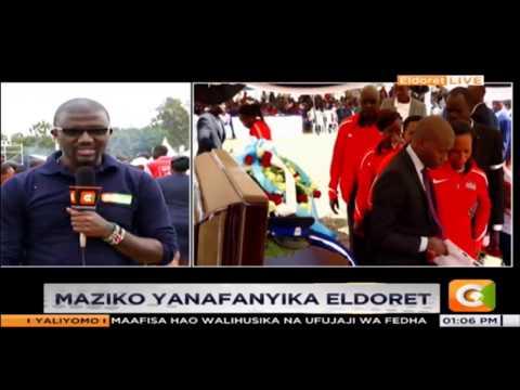 Maziko ya Nicholas Bett  yanafanyika Eldoret