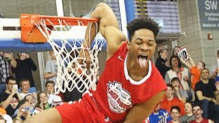 BEST Dunk Contest Of The Year?! CRAZY Dunks At HS Slam!