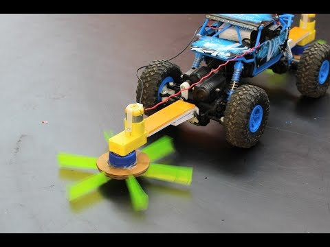 How To Make a floor cleaning RC car