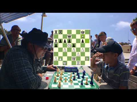 Who's HUSTLING Who? The Great Carlini vs. 15 Year Old Chess Prodigy