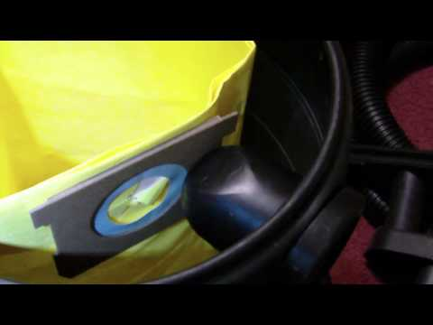How To Use Disposable ShopVac Bags 90671 90661