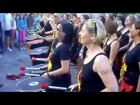 Jalapenos Percussion Batucada Altstadtfest Amberg 2014