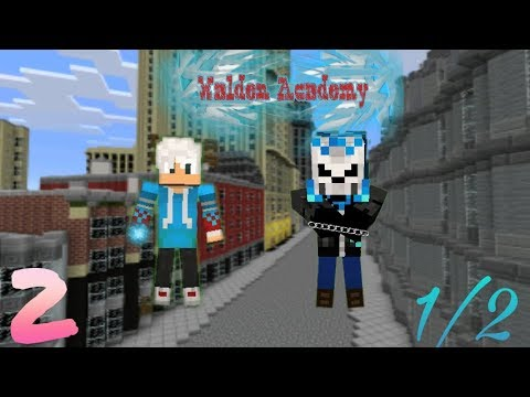 Walden Academy [Episode 2][ Part 1]  | Mcpe Roleplay