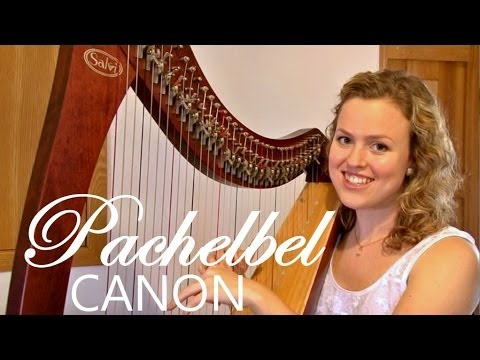 Pachelbel's Canon in D - harp (Christy-Lyn)