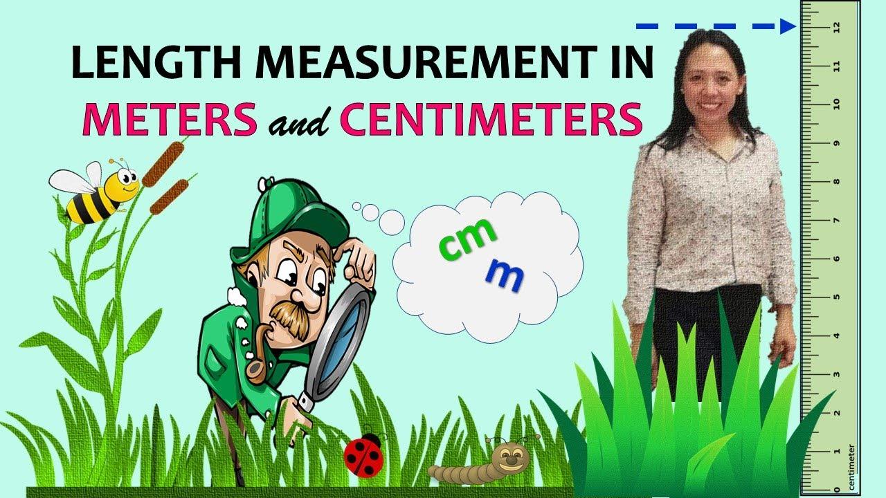 Download Length Measurement in Meters and Centimeters   Length in Centimeter   Measurement of Length