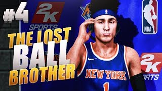 The lost ball brother #4 - nba 2k18 mycareer - swagging out my myplayer with 600k vc! ????