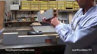 852. Diy Router Fence With Dust Collection - 2 Styles