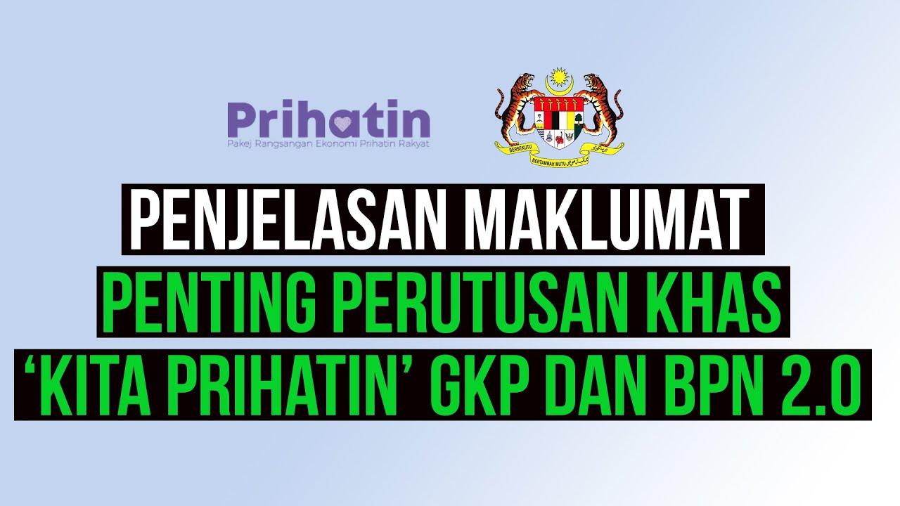 Penjelasan maklumat penting GKP 2.0 dan BPN 2.0   SAJE SEMBANG