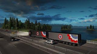 ВСЁ С НУЛЯ! Дальнобой с Римасом! Euro Truck Simulator 2