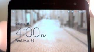 The slim, metal Huawei MediaPad X1