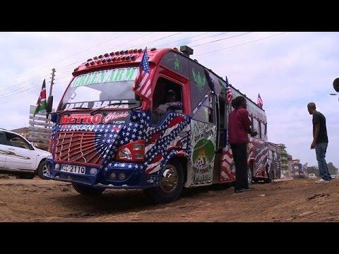 Kenya under tight security ahead of Obama's visit