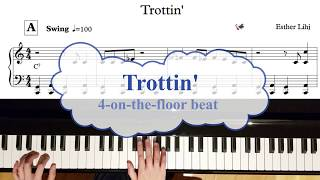 Learn to play the blues: Trottin' (Free sheet music)