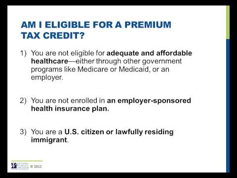 Am I eligible for a Premium Tax Credit?
