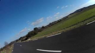 25 motards au radar à 200. Gendarme sympas