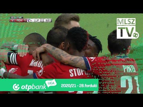 Nikolic Nemanja első gólja a MOL Fehérvár FC – Újpest FC mérkőzésen thumbnail
