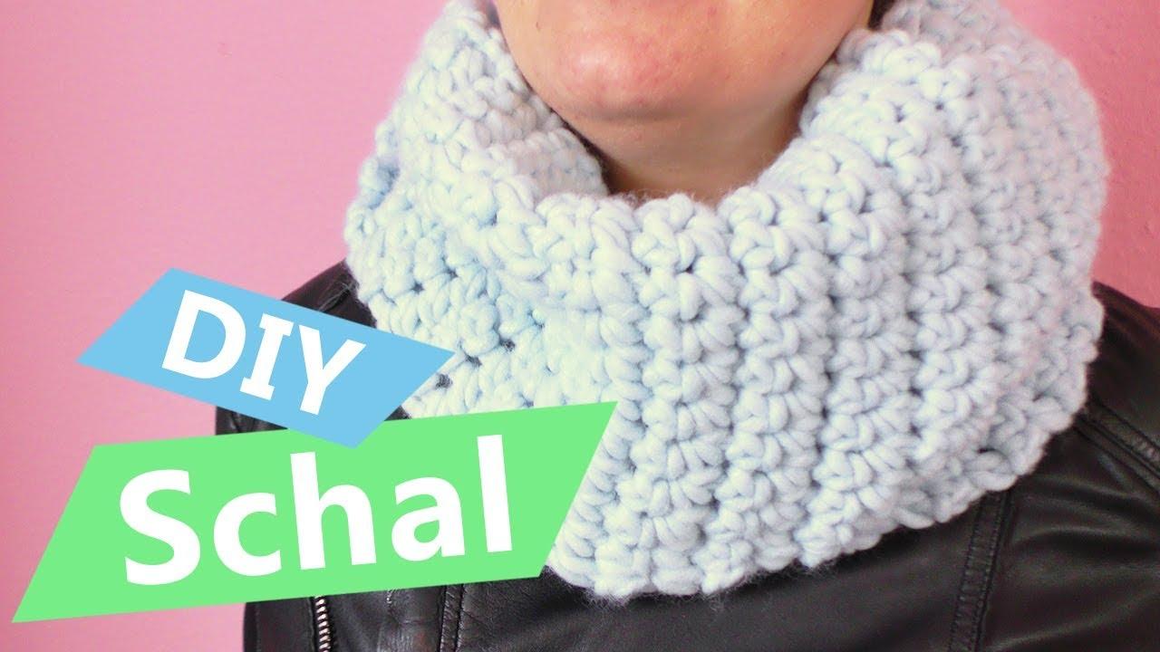 Diy Schal Häkeln Super Einfache Anleitung Für Anfänger Herbst