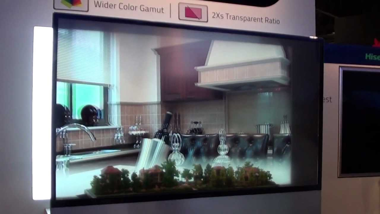 samsung tv transparent. ces 2013 hisense transparent 3d tv (similar to samsung\u0027s) samsung tv