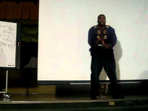 Bro. Dr. Umar Abdullah Johnson Kwanzaa Baltimore 2010.