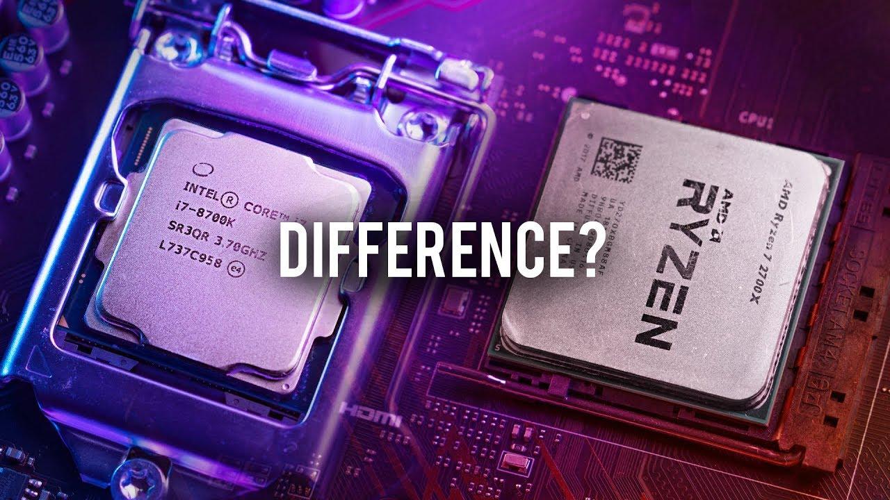 i7 8700K vs R7 2700X in 1440p Gaming!