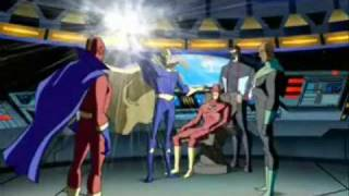 Doctor Fate on Justice League Unlimited