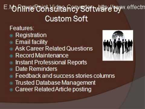 Online Consultancy Software by Custom Soft