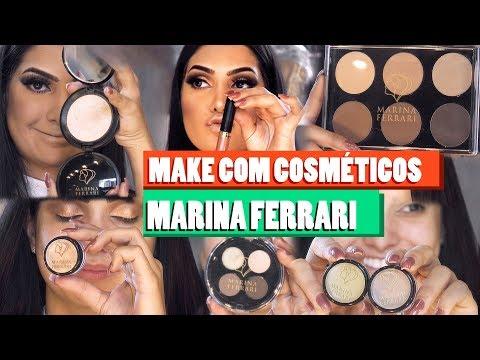 MAKE COM COSMÉTICOS MARINA FERRARI