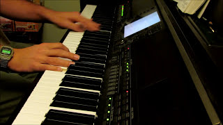 Calvary Covers It All - piano instrumental hymn with lyrics