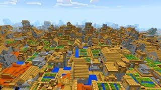 Insane Village Seed In Minecraft Pocket Edition (crazy Village Mod)