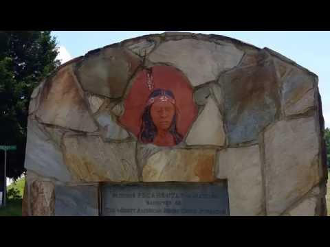Pamunkey Reservation Pocahontas Statue - June 1, 2016 - Travels With Phil