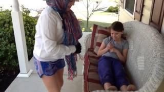 Small girl big crutches Episode 1