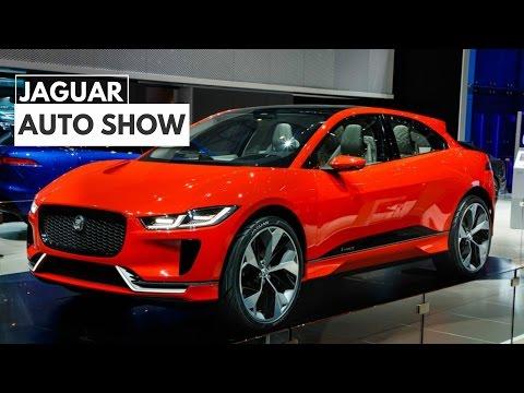 Jaguar I Pace Electric Crossover Concept