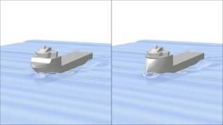 Download Video CFD Simulations - comparison of different bow designs MP3 3GP MP4