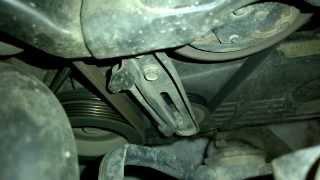 Шум ролика натяжителя кондиционера. Subaru Impreza GG3