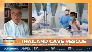 Thailand Cave Rescue: Football team and their coach to be released from hospital