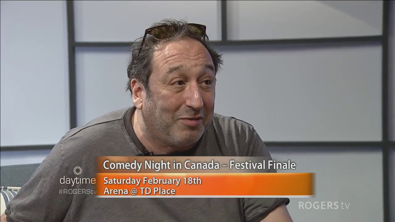 Comedian Jeremy Hotz on coping with anxiety on daytime Ottawa