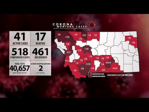Montana, Wyoming COVID-19 Update 6-1-20