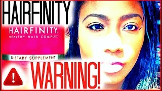 Watch Before You Buy Hairfinity | A Warning! | Ciarahoneydip