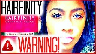 Watch Before You Buy Hairfinity | A Warning! | Ciarahoneydip