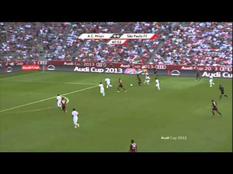 AC Milan vs Sao Paulo - Audi Cup
